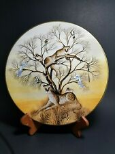 Royal Doulton Collectors International Plate Patience Gustavo Novoa Jungle 1982