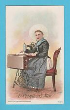 NATIONS - SINGER SEWING - RARE NATIONS / ADVERTISING CARD -  BOULOGNE - 1894