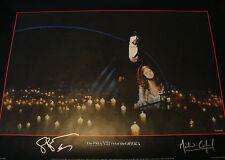 Michael Crawford Sarah Brightman SIGNED Phantom Opera Poster COA