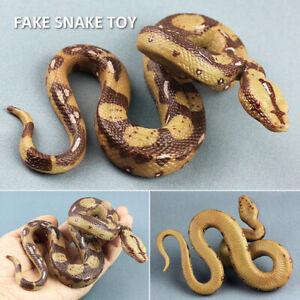 Rubber Fake Realistic Snake Lifelike Scary Toys Party Prank Joke  Props Gift