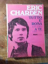 """SPARTITO CHARDEN """"TUTTO E' ROSA"""" """"A TE"""""""