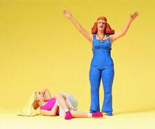 Preiser 45134 1:22.5 G Scale Lgb Gauge Young Women Hippie - New - Mib