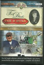 FRED DIBNAH'S MADE IN BRITAIN VOLUME TEN. 10. CHAINS AND COPPER DVD