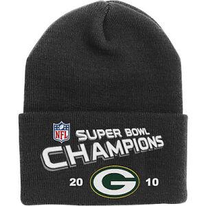 Super Bowl XLV 45 Champions Beanie Green Bay Packers