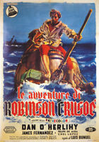 Robinson Crusoe Dan O'Herlihy  movie poster print 2