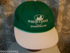White Castle Springfield MO Green Cap Hat Trucker One size Snap USA Greens