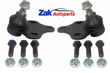 FOR AUDI TT (1998-2005) FRONT SUSPENSION WISHBONE ARM LOWER BALL JOINTS SET NEW