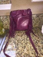 LUCKY BRAND Leather Fringe Crossbody Bag Shoulder Bag Handbag Purse NICE!!