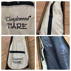 Fitted Padded Gig Bag for  Tenor Ukulele back pack strap.