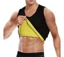 Mens Slimming Body Shaper Cimkiz Sauna Vest for Man Neoprene Sweat Vest XL