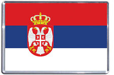 Serbian Flag Fridge Magnet - Flags