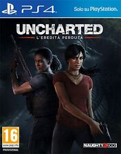 Uncharted: L'Eredita' Perduta PS4 - totalmente in italiano