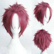 """12"""" Ensemble Stars Anti-Alice short hair styling Red Silver Yellow Cosplay Wig"""