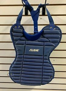 All Star Intermediate Catchers Chest Protector CP11X Royal