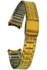 Acero Inoxidable IP Oro 13mm Correa Reloj Correa de Repuesto Rundanschluss