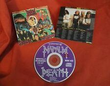 NAPALM DEATH - Mentally Murdered EP / MOSH 14CD