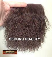 M00040 MOREZMORE Hair Tibetan Lamb Seconds MOCHA BROWN Doll Baby Hair T20