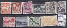 Christmas Islands 1963 serie corrente 11-20 MNH