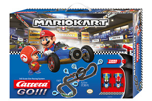Carrera Go Nintendo Mario Kart Mach 8 Slot Car Racing Race Set 20062492 NEW