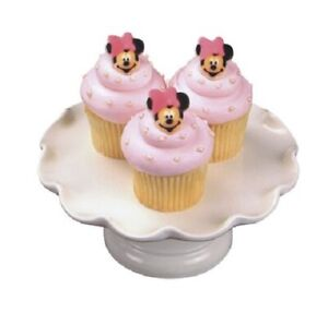 Disney Cake Toppers Minnie Mouse Cupcake Toppers