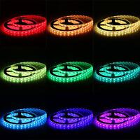 20M 4x 12V 5050 RGB LED Strip 5M 300 SMD Flex Rope Light Waterproof US Delivery