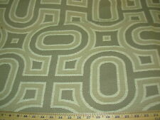 ~4 YDS~MODERN RETRO EAMES ERA~EMBROIDERED NUBBY UPHOLSTERY FABRIC FOR LESS