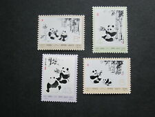 China Prc N57 Panda Incomplete Set Mnh