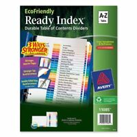 Avery Ready Index Table Of Contents Divider - Printeda To Z - 26 / Set -