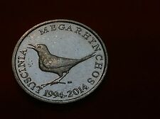 1 KUNA 2014 - Commemorative coins  - 20th Anniversary of National Currency !