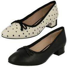 Ladies Clarks Low Heel Smart Slip On Shoes 'Eliberry Isla'