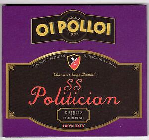 Oi Polloi - S.S. Politician CD digipak