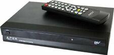 Apex Digital TV Converter Box with Analog Passthrough wireless Remote ATSC