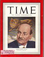CLEMENT ATTLEE Time Magazine 2/6/50 BRITAIN WELFARE STATE