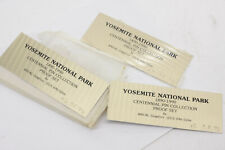 Yosemite National Park Centennial 1990 Proof Set by Ancal PLAQUE ONLY NEW B976