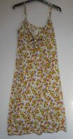 Next Summer Holiday Beachwear Slip Midi Dress Floral Print - Size 6 - 18