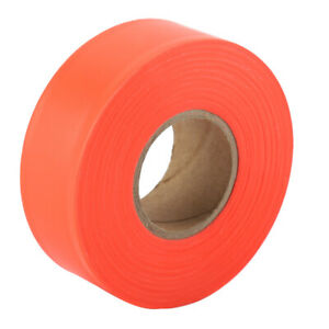High Visibility Camping Marking Ribbon Roll Caution Tape(Orange) HG AD