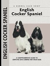 English Cocker Spaniel KENNEL CLUB BOOKS Hardcover BOWTIE ILLUSTRATED Puppy Dog