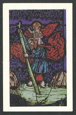 Holy card de San Cristobal estampa santino image pieuse