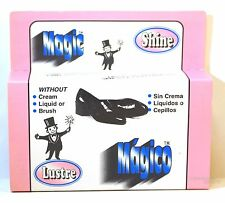 Magic Shoe Shine Without Cream, Lquid Or Brush by Lustre / Maleka - Made In USA