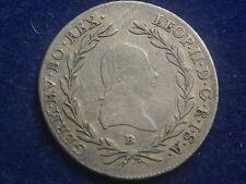 20 Kreuzer 1792 B Kremnitz Leopold II  RDR     W/16/430