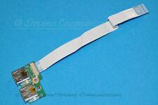 HP Compaq Presario CQ61-319WM CQ61-313US CQ61 Laptop (Dual) USB Port Board