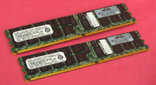 HP Smart Modular 405476-051 4GB (2x 2GB) ECC REG PC2-5300P Server Memory Ram