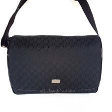 Oroton Essential Satchel Baby Bag Nappy Classic O Jacquard Black Tag Dustbag