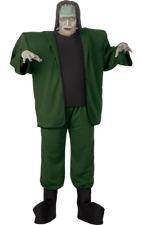 Mens Frankenstein Monster Plus Size Film Halloween Fancy Dress Costume