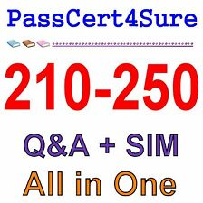 Cisco Best Exam Practice Material for 210-250 Exam Q&A PDF+SIM