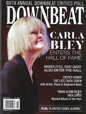 Down Beat  Magazine  August 2021  Carla Bley