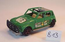 Majorette 1/60 Nr. 231 Citroen Dyane Rallye grün Startnummer 17 #813