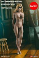 TBLeague GIRL 1/6 Seamless Suntan Female Body S21B 12'' Figure Big  Breast