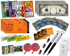 New THE SUPER PRANK KIT No.3, 35x ALL-IN-ONE Gag Kit, Fake Lotto, Fart Bombs