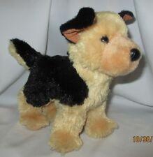 "German Shepherd Plush Dog Douglas Cuddle Toy  9"" dated 2015"
